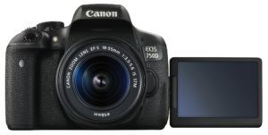 Canon EOS 750D 24.2MP WiFi Touch Screen DSLR Digital Camera Price and Specifications