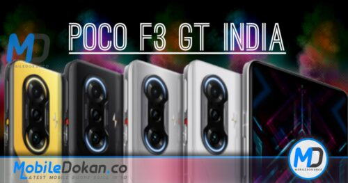 POCO F3 GT India confirmed to launch with Dimensity 1200
